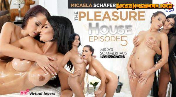TSVirtualLovers: Micaela Schafer, Jolee Love - The Pleasure House - Mica's Sommerhaus Der Pornostars Episode 5 (Lesbian, VR, SideBySide, Gear VR) (Samsung Gear VR) 1440p