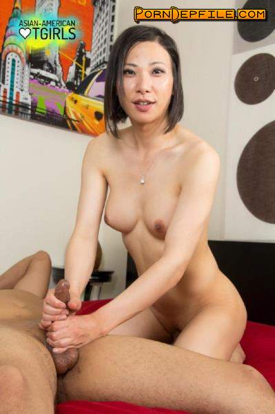 AsianAmericanTGirls: Bora Gin - Bora goes interracial (Anal, Transsexual, Ladyboy, Shemale) 720p