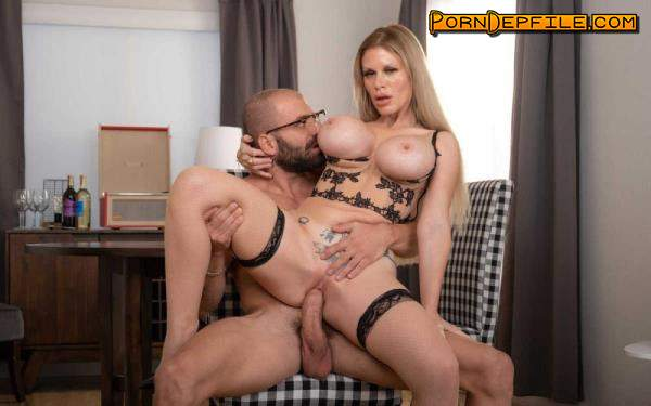 NeighborAffair, NaughtyAmerica: Casca Akashova - Beautiful Blonde Bombshell Gets A Big Thick Cock For Her Milf Pussy (Blowjob, Deep Throat, Blonde, Anilingus) 360p