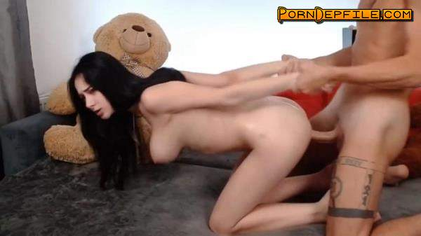 Chaturbate: Ronandalice - 2020-10-04 (Blowjob, Doggystyle, Deep Throat, Webcam) 720p
