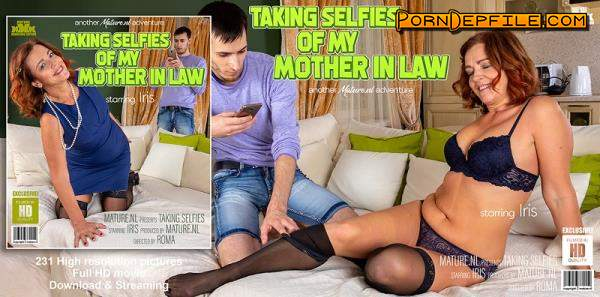 Mature.nl: Iris (53) - Caught my mother in law taking selfies (Toys, Facial, Teen, Mature) 1080p