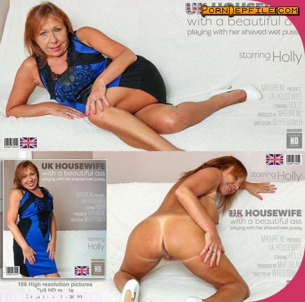 Mature.nl: Holly (EU) (52) - Housewife Holly from the UK and her beautifull ass (Toys, Masturbation, Solo, Mature) 1080p