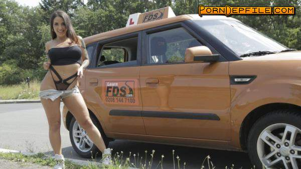 FakeDrivingSchool, FakeHub: Medusa - Spanish Babe has Lesson Hijacked (Outdoor, Facial, Brunette, Amateur) 720p