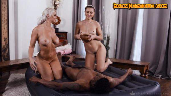 NuruMassage, FantasyMassage: London River, Paige Owens - A Very Competitive Family (Milf, Interracial, Threesome, Massage) 1080p