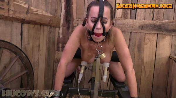 HuCows: Cindy Dollar - Clamped Before And After (HD Porn, FullHD, BDSM, Bondage) 1080p