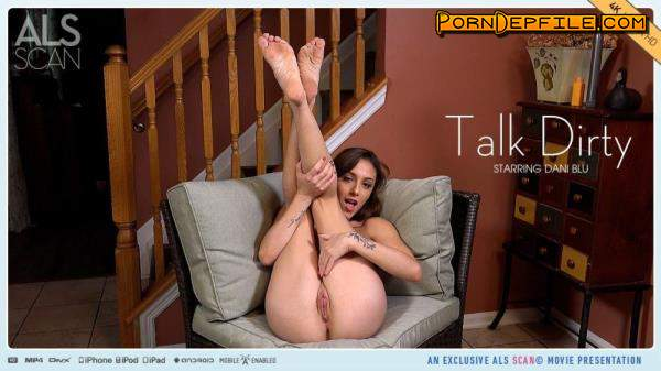 ALSScan: Dani Blu - Talk Dirty (Masturbation, Brunette, Solo, Teen) 2160p