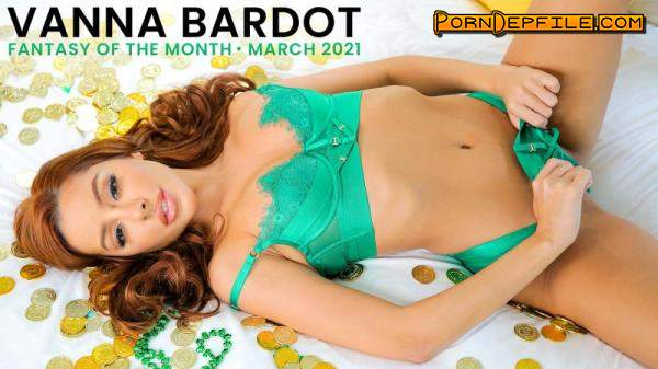 NubileFilms: Vanna Bardot - March Fantasy Of The Month (Redhead, Latina, Handjob, Cowgirl) 540p