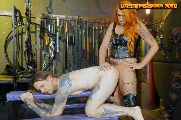 TransAngels: Aspen Brooks, Will Havoc - Under her Short Skirt (Creampie, Anilingus, Transsexual, Shemale) 1080p