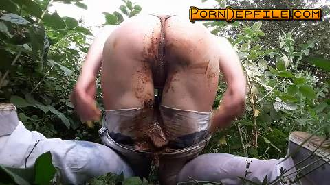 ScatShop: AnnaCoprofield - Shit in my jeans (Smearing, Pissing, Fisting, Scat) 1080p
