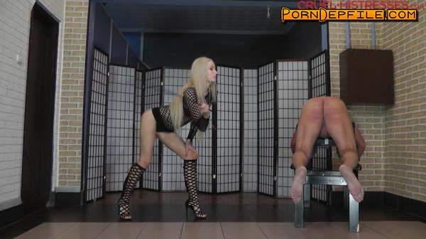 CruelAmazons, Cruel-Mistresses: Mistress Ariel - Pain Caused By A Cane (Fetish, BDSM, Femdom, Humiliation) 720p