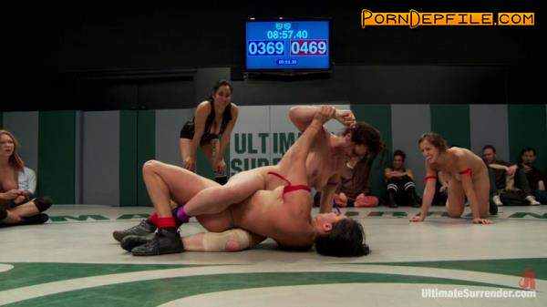 UltimateSurrender, Kink: Isis Love, Jessie Cox, Holly Heart, Juliette March, Kaylee Hilton - RD 2/4 of Feb's Live Tag Team Match: Sexual molestation on the mat! (HD Porn, Hardcore, Fetish, Femdom) 720p