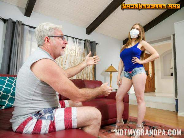 NotMyGrandpa, TeamSkeet: Jackie Hoff - Mark of the Beast (Brunette, Big Tits, Teen, Anal) 720p