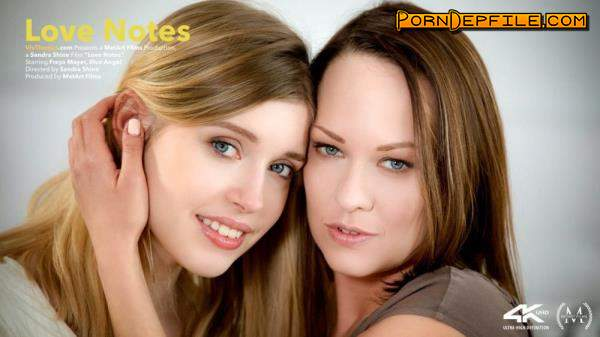 VivThomas: Blue Angel, Freya Mayer - Love Notes (Brunette, Blonde, Russian, Lesbian) 720p