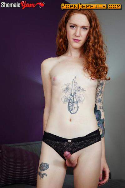 Groobygirls: Lucy Blue - Redhead Cutie Lucy Blue! (Solo, Transsexual, Fetish, Shemale) 1080p